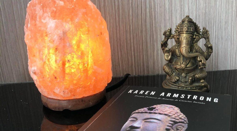 Beneficios del uso de las lamparas de sal de Himalaya en tu hogar o sitio de trabajo